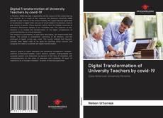 Обложка Digital Transformation of University Teachers by covid-19