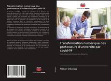 Обложка Transformation numérique des professeurs d'université par covid-19