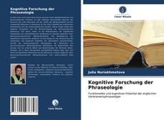 Buchcover von Kognitive Forschung der Phraseologie