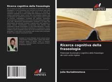 Couverture de Ricerca cognitiva della fraseologia