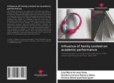 Capa do livro de Influence of family context on academic performance