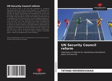 Bookcover of UN Security Council reform