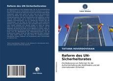Borítókép a  Reform des UN-Sicherheitsrates - hoz