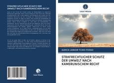 Bookcover of STRAFRECHTLICHER SCHUTZ DER UMWELT NACH KAMERUNISCHEM RECHT