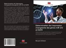Copertina di Détermination de l'expression changeante des gènes miR-212 et EGFR