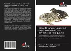 Capa do livro de Cannella come promotore di crescita fotobiotica sulla performance della quaglia