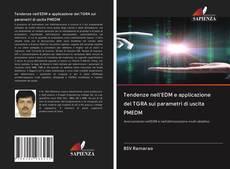 Portada del libro de Tendenze nell'EDM e applicazione del TGRA sui parametri di uscita PMEDM