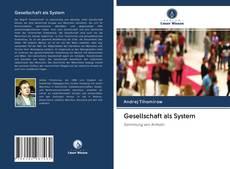 Bookcover of Gesellschaft als System