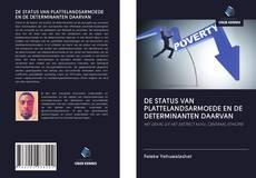 Bookcover of DE STATUS VAN PLATTELANDSARMOEDE EN DE DETERMINANTEN DAARVAN