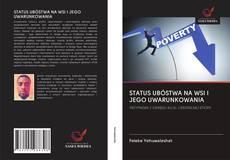 STATUS UBÓSTWA NA WSI I JEGO UWARUNKOWANIA kitap kapağı