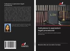 Buchcover von Collusione in operazioni legali procedurali