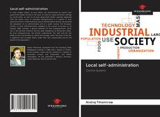 Bookcover of Local self-administration