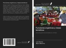 Bookcover of Funciones orgánicas y clases temáticas