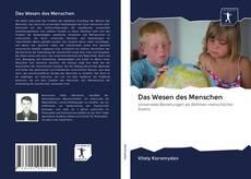 Capa do livro de Das Wesen des Menschen