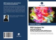 Buchcover von ERP-System für universitäre Informationsfunktionen