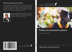 Capa do livro de Política de educación pública