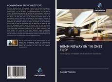 """Capa do livro de HEMMINGWAY EN """"IN ONZE TIJD"""""""