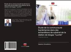 """Couverture de Étude de la communauté bactérienne dans des échantillons de substrat de la station de biogaz """"Luchki"""""""