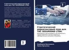 Стратегический маркетинговый план для TAC SEGURIDAD LTDA.的封面