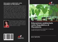Copertina di Educazione ambientale nella Repubblica di Macedonia