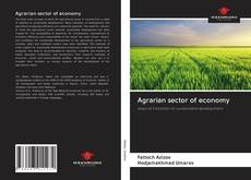 Bookcover of Agrarian sector of economy