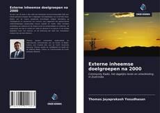Bookcover of Externe inheemse doelgroepen na 2000