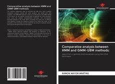 Bookcover of Comparative analysis between HMM and GMM-UBM methods: