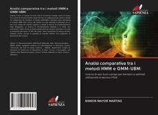 Bookcover of Analisi comparativa tra i metodi HMM e GMM-UBM: