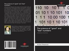 "The science of ""good"" and ""bad"" numbers kitap kapağı"