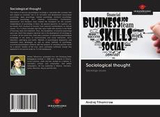 Bookcover of Sociological thought