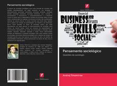 Capa do livro de Pensamento sociológico