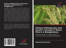 Copertina di Zmiany klimatyczne oraz koszty i korzyści T.Aman Rice'a w Bangladeszu