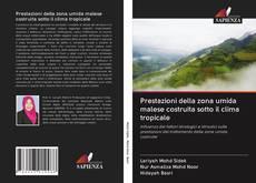 Bookcover of Prestazioni della zona umida malese costruita sotto il clima tropicale