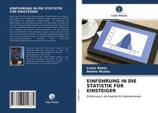 Couverture de EINFÜHRUNG IN DIE STATISTIK FÜR EINSTEIGER