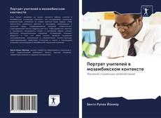 Bookcover of Портрет учителей в мозамбикском контексте