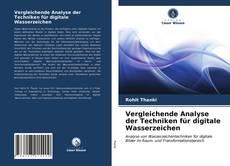 Capa do livro de Vergleichende Analyse der Techniken für digitale Wasserzeichen