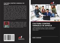 Buchcover von CULTURA CONTRO VANGELO IN AFRICA