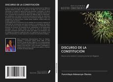 DISCURSO DE LA CONSTITUCIÓN kitap kapağı