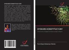 Capa do livro de DYSKURS KONSTYTUCYJNY