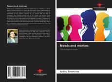 Buchcover von Needs and motives