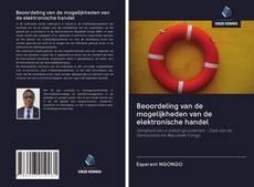 Borítókép a  Beoordeling van de mogelijkheden van de elektronische handel - hoz