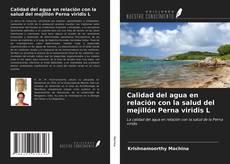 Copertina di Calidad del agua en relación con la salud del mejillón Perna viridis L