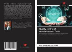 Bookcover of Quality control of complementary feeds