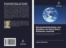 Buchcover von Bovenmantelrotsen van Kozákov en Horní Bory, Boheems massief
