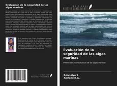 Capa do livro de Evaluación de la seguridad de las algas marinas