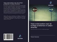 Capa do livro de Twee onderzoeken naar de huidige problemen in Latijns-Amerika