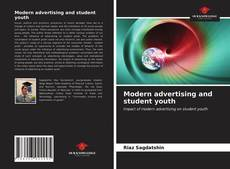 Bookcover of Modern advertising and student youth