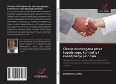 Обложка Okazja dostrzegana przez kupującego, kontrakty i koordynacja pionowa