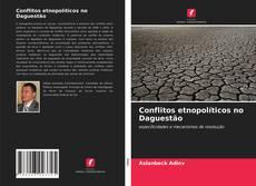 Capa do livro de Conflitos etnopolíticos no Daguestão
