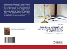 Обложка Augustine's philosophy of Law and Hart's Contribution to Legal Positivism